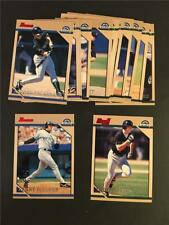 1996 Bowman Colorado Rockies Team Set 14 Cards
