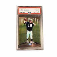 Peyton Manning 1998 Topps Finest PSA 9 Rookie Card RC #121
