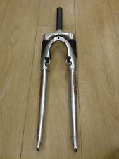 hybrid forks Suntour 700c wheel used silver V brake