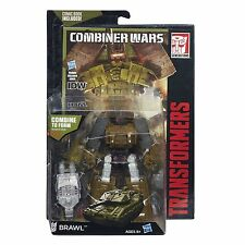 Transformers Generations Combiner Wars Deluxe Combaticon BRAWL with Comic