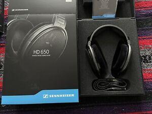 Sennheiser HD 650 Headband Headphones - Titan