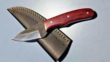 MH KNIVES CUSTOM HANDMADE CARBON STEEL FULL TANG HUNTING/SKINNER KNIFE 317V