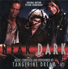 NEAR DARK Tangerine Dream CD SOUNDTRACK Score AUTOGRAPHED Signed PAUL HASLINGER