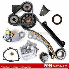 Suzuki 1.8L 2.0L 2.3L Timing Chain Gear Water Pump Kit G18K J18A J20A J23A Chevy