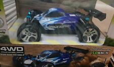 Blue WLtoys  Off-Road 1/18 Scale 2.4G RC Car 50km/h High Speed RTR Car 4WD