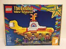 LEGO THE BEATLES YELLOW SUBMARINE 21306 *BRAND NEW*