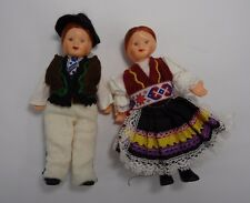 Vintage Antique Dollhouse Doll lot