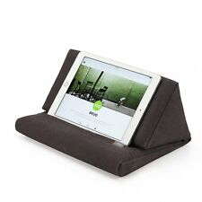 iPad Pillow For Bed Sofa Stand Holder Pockets Storage Cushion Case Tablet Folds