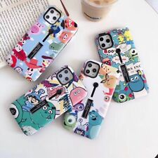 Cartoon Disney Toy Story Stand Holder case Cover for iPhone 11 Pro Xs Max X 7 8+