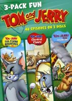 Tom & Jerry - Tom and Jerry: 3-Pack Fun [New DVD] 3 Pack