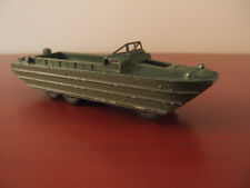 Vintage Dinky Meccano DUKW Amphibian Boat Military WWII Army Metal France 825