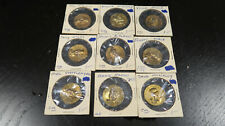 1969 Baseball Centennial Series Token Coin Lot of 9 Aaron McLain Killebrew