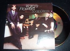 Kara's Flowers (Adam Levine Maroon 5)‎ – Soap Disco Australian Card Sleeve CD Si