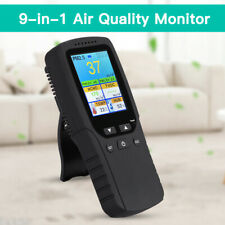 9 in 1 Air Quality Monitor Tester for Formaldehyde Aqi Pm10 Temperature Detector
