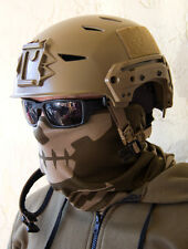 MILSPEC MONKEY MSM DUSTY BROWN Skull Face Tactical Head Multi Wrap US Army Mask