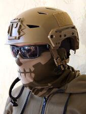 MILSPEC MONKEY MSM DUSTY BROWN Skull Face Tactical Head Multi Wrap US Army Mask