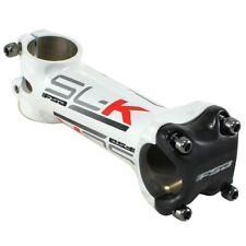 FSA SL-K Alloy Carbon Bike Stem 31.8 x 120mm, +/-6 Degree, White x Gray x Red