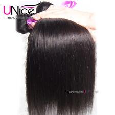 "8A Malaysian Virgin Straight Hair 3 Bundles 100% Unprocessed Human Hair Wefts 8"""