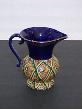 Vintage Czech Art Deco Pitcher Ditmar Urbach Art Pottery Czechoslovakia Lostro