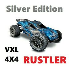 (Limited Edition) Traxxas SILVER EDITION Rustler VXL 4X4 Stadium Truck RC Car