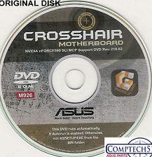 ASUS GENUINE VINTAGE ORIGINAL DISK FOR CROSSHAIR Motherboard Drivers Disk M926