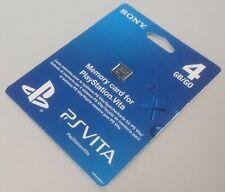 PSVita 4GB memory card *** NEW *** SEALED *** PS Vita