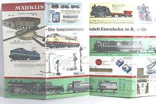 Märklin Neuheitenblatt 1967/68 , Flyer, Schön! (A)