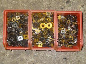 12,7kg Hartmetallschrott gebrauchte Wendeschneidplatten !!!