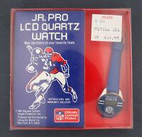 1981 Jr. Pro LCD Quartz Baltimore Colts NFL Football Character Watch in Box