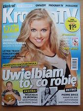 PIERRE BRICE / WINNETOU,Sharon Stone in Polish Magazine KROPKA TV 25/2015