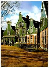 Typical Houses Holland Postcard Netherlands Zaanse Schans Unposted Vintage