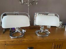 Pair of bankers desk lamps beautiful