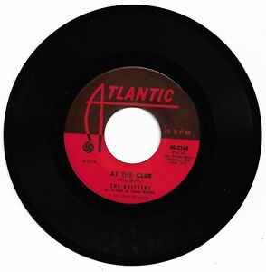 THE DRIFTERS - AT THE CLUB - ATLANTIC -  EXCELLENT CONDITION