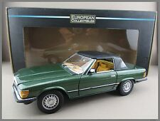 Mercedes-Benz 350 SL * 1977 * moosgrün *  Sun Star * Maßstab 1:18 * OVP * NEU