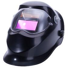Solar Powered Auto-Darkening Arc Tig Mig Welding Helmet Grinding WS-500 Black
