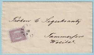 FINLAND 6 ON 1875 COVER TO WESILAKS - ATTRACTIVE COVER !