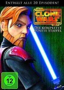 Star Wars - The Clone Wars - Staffel 5 | DVD | Zustand gut