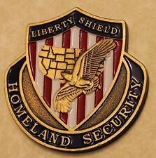 Homeland Security Liberty Shield Challenge Coin