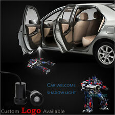 2X Transformers Optimus Car Door Courtesy Welcome Laser Projector Shadow Light