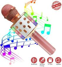 ZMLM Wireless Bluetooth Karaoke Microphone with LED Light - 5 in 1 c3abbb