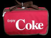 Coca-Cola PicnicTime Silkscreen Blanket Tote Red and Striped - BRAND NEW