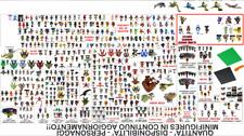 MINIFIGURES COMPATIBILI LEGO MINIFIGURE CUSTOM