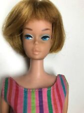 American Girl Barbie Titian with swimsuit and Clear Lid Box Vintage