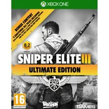 Sniper Elite III 3 Ultimate Edition Xbox One Xb1 Includes DLC