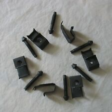 "NOP Lot (6) Elkay Sink Rim Mounting Clips Fasteners For 3/4"" Counter Top"