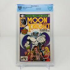 Moon Knight #1 CBCS 9.8 WHITE PAGES 1980 NOT CGC