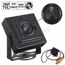 """Micro 3.7mm Pinhole Lens CCTV Camera HD Security Hidden Spy Cam 700TVL 1/3"""" CMOS"""