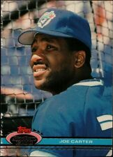 Topps Stadium 1991 #513 - Toronto Blue Jays - Joe Carter