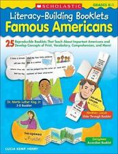 Famous Americans : 25 Reproducible Booklets That Teach about Important...