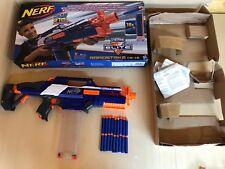 Nerf N-Strike Elite Rapidstrike CS18 Blaster Gun- Blue/orange Boxed